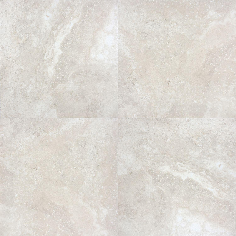 """12367 13""""x13"""" Sydney Ivory Ceramic Floor Tile Tiles"""