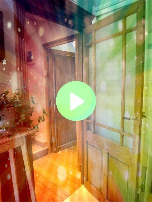 of restored pine door example of restored pine door DHondt InterieurPortes  DHondt Interieur French door of old polar Warm wood tones enhance the decor Interior doors  Po...