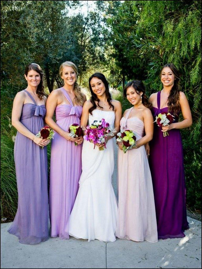 Different shades of purple bridesmaid dresses dresses and gowns different shades of purple bridesmaid dresses ombrellifo Choice Image