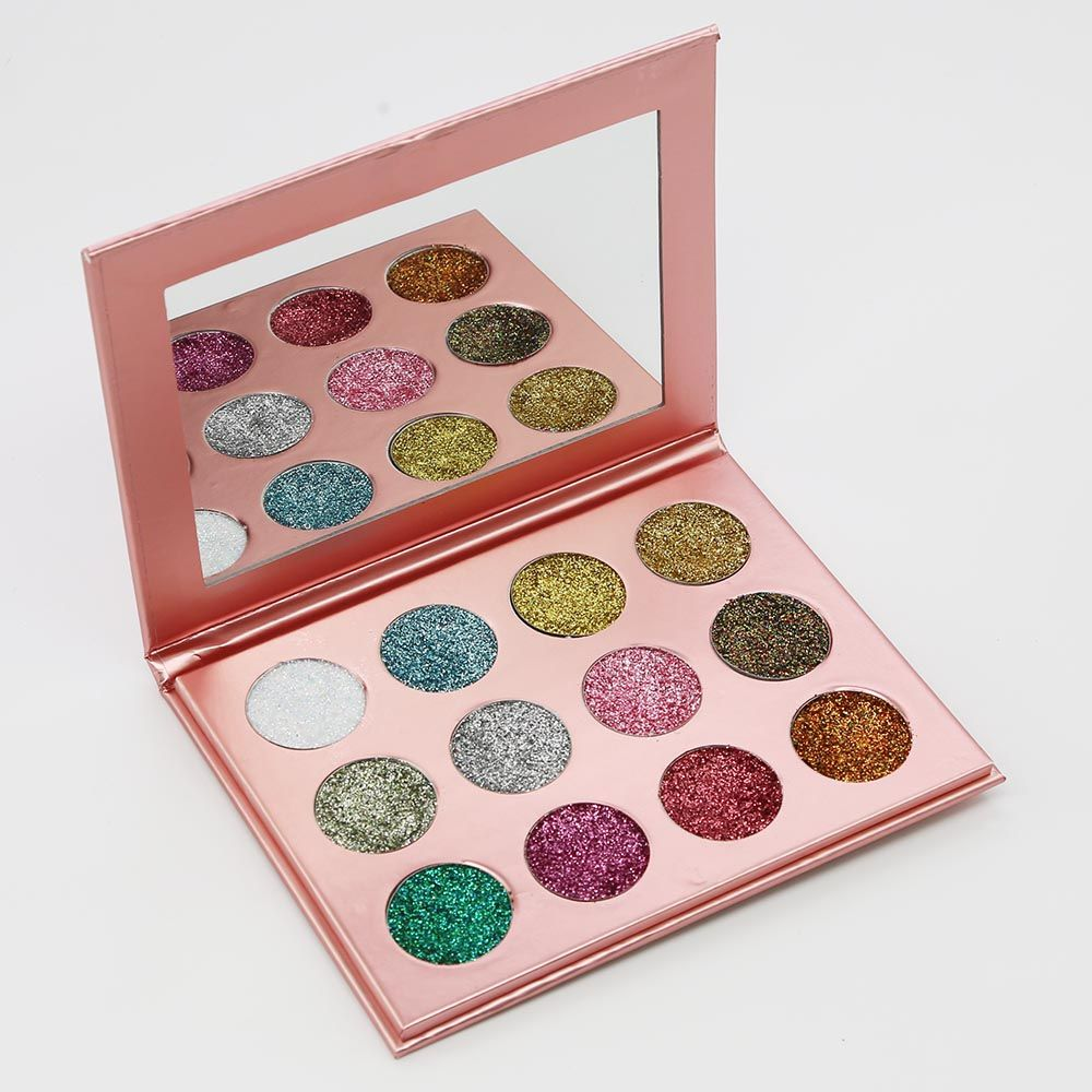 Pressed Glitter Sample Sets (30 Colors, Water-Resistant