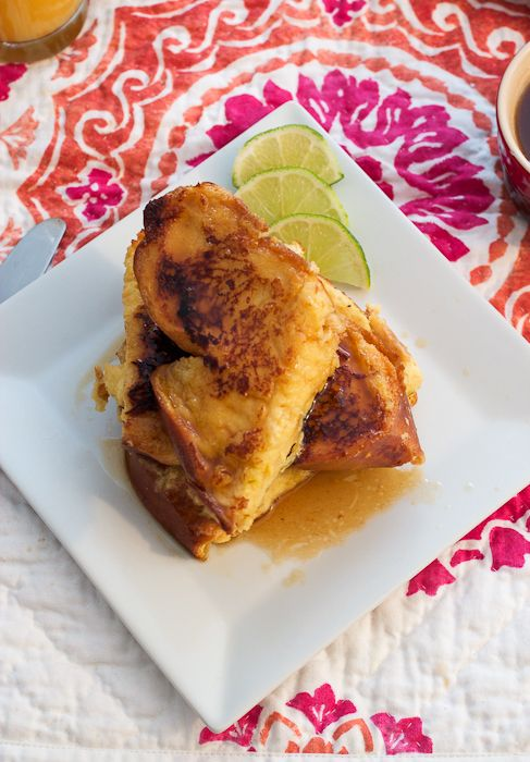Dark and Stormy French Toast
