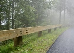 Driveway Guard Rail Home Build Outdoors Pinterest