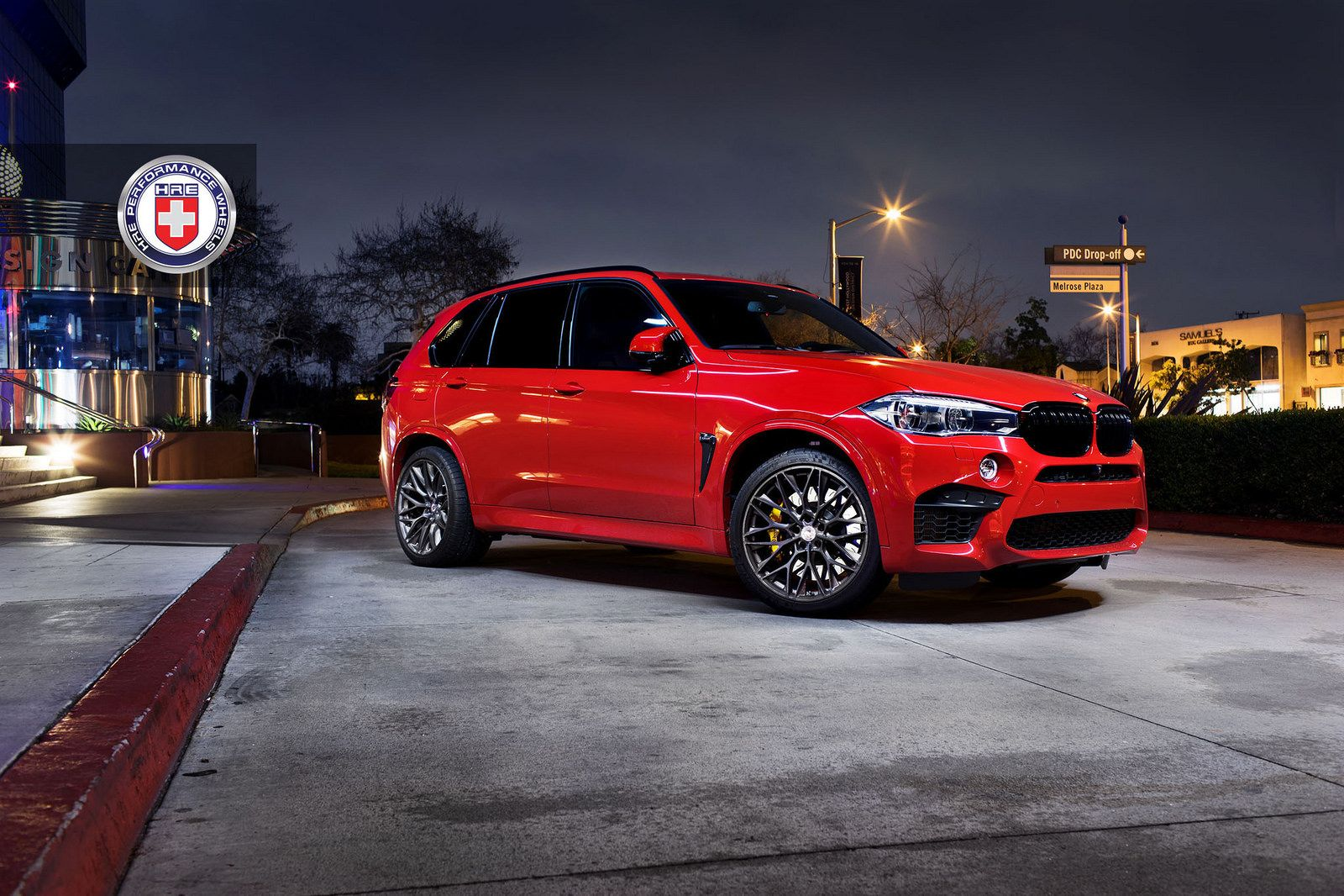 Incroyable Melbourne Red BMW X5 M With HRE P200 Wheels In Brushed Dark Clear   Http: