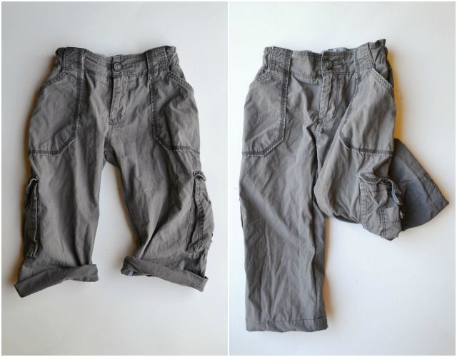 Feather's Flights {a creative, sewing blog}: Upcycled: Cargo Pants
