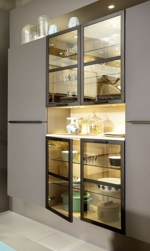 Best Kitchen Tall Unit Glass With Images Kitchen Tall 400 x 300