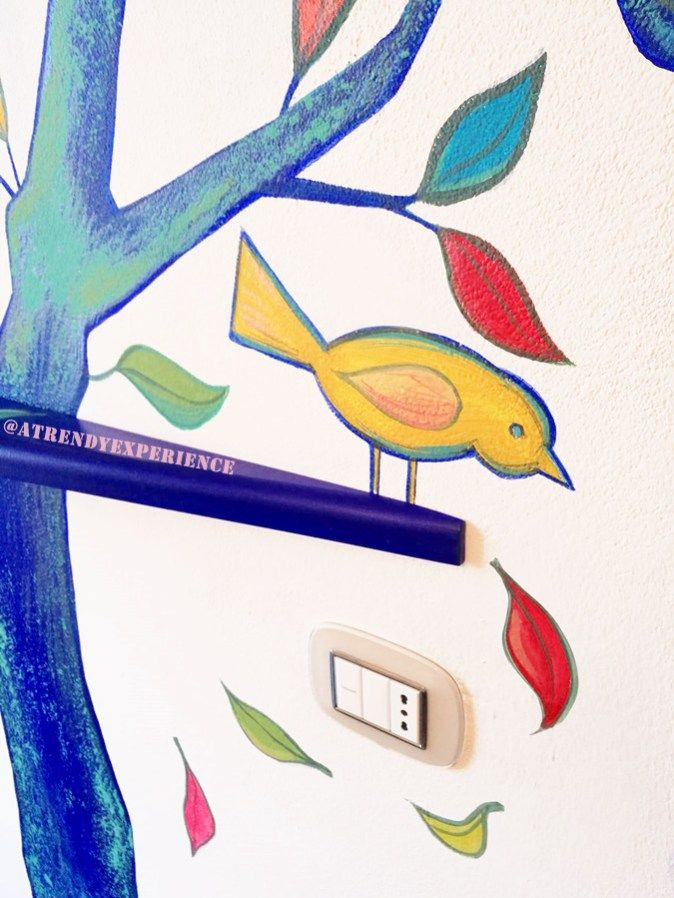 Come decorare una parete con la pittura murale ⋆ A Trendy ...