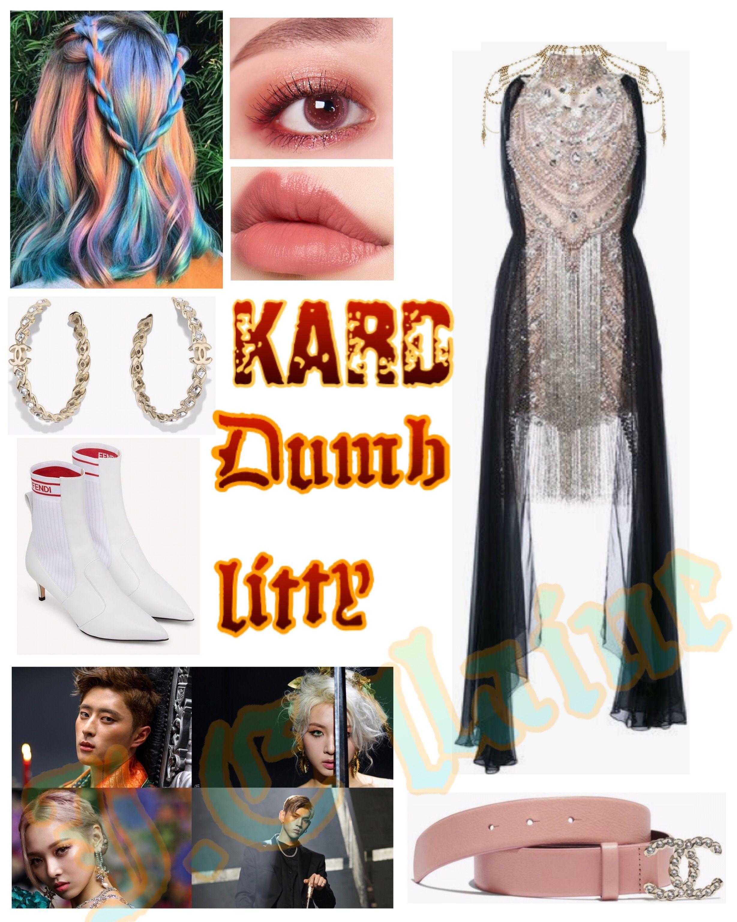 #Kpop #Girlgroup #kard #dumblitty #outfit #fashion # ...