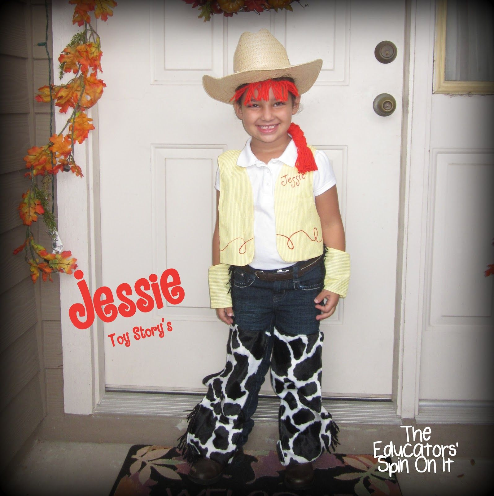 Jessie from Toy Story costume from The Educators\' Spin On It: Join ...