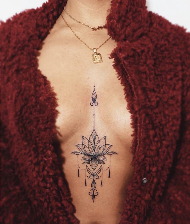 Photo of Sternum tattoo #sternum #tattoo,  #smalltattoorose #Sternum #Tattoo