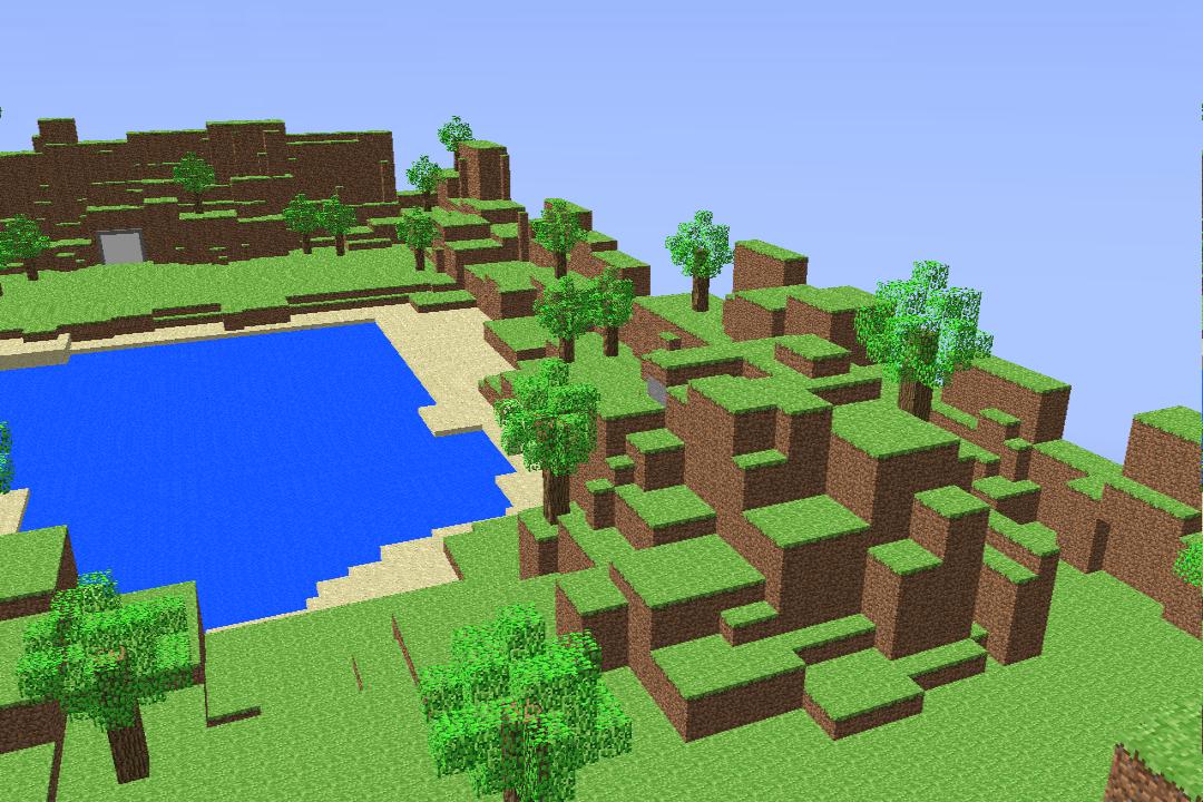 MMD Stage: Minecraft DL by Liquidhalo