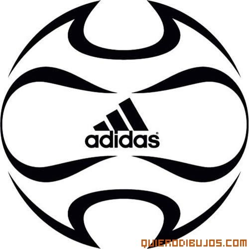 Balón de Fútbol para pintar. Adidas. | Deportes. Sports | Pinterest ...