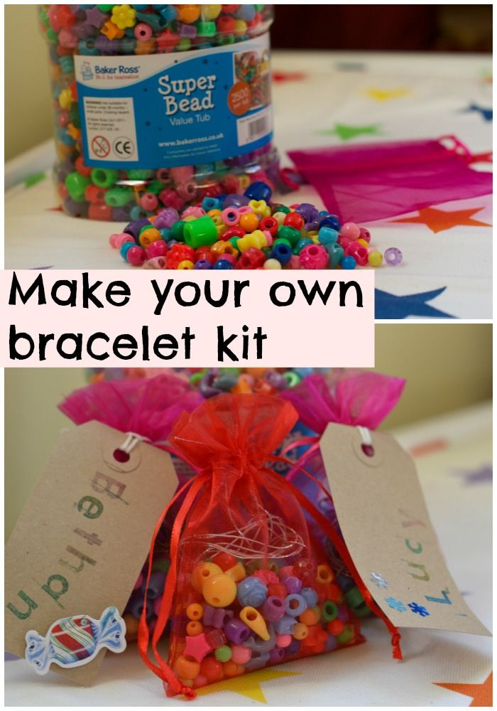 Make Your Own Bracelet Kit Stockingfillers Partyideas