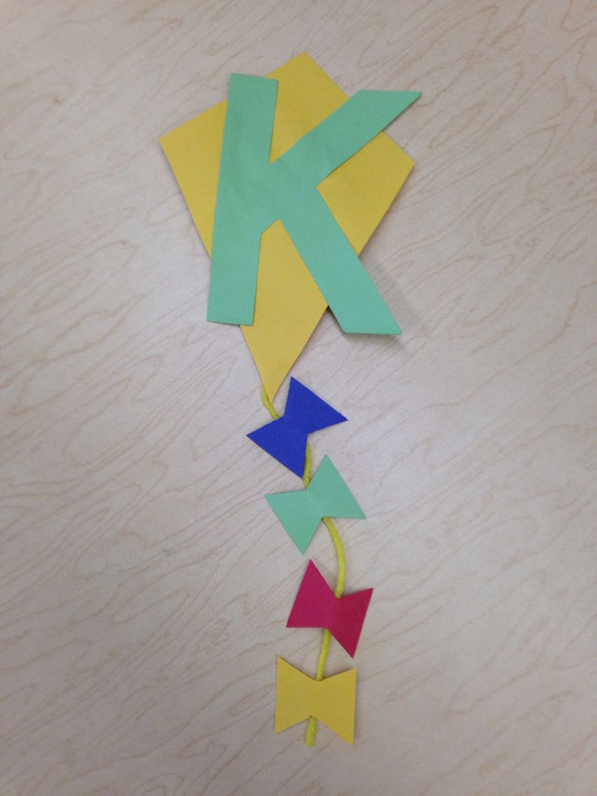 K Is For Kite Craft
