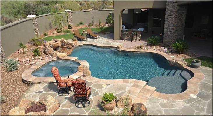 Small Backyard Inground Pool Designs
