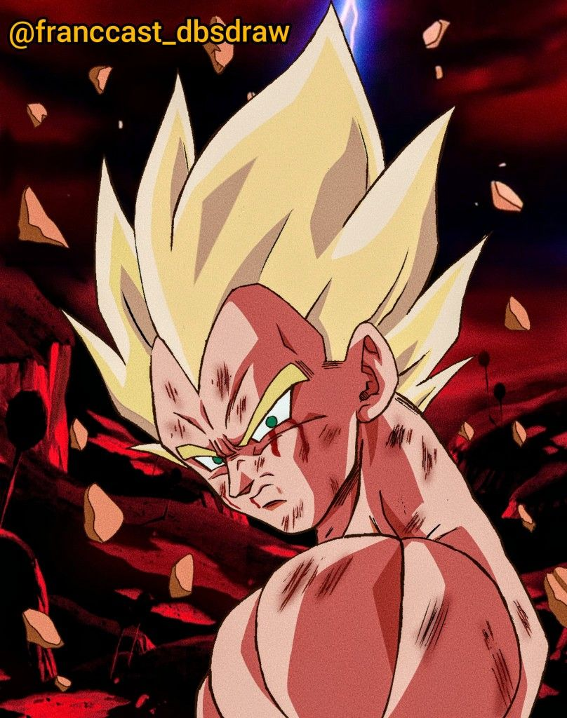 What If Vegeta Ssj Namek Similar To Goku Fanart By Franccast Dbsdraw Dragon Ball Super Manga Anime Dragon Ball Dragon Ball Art