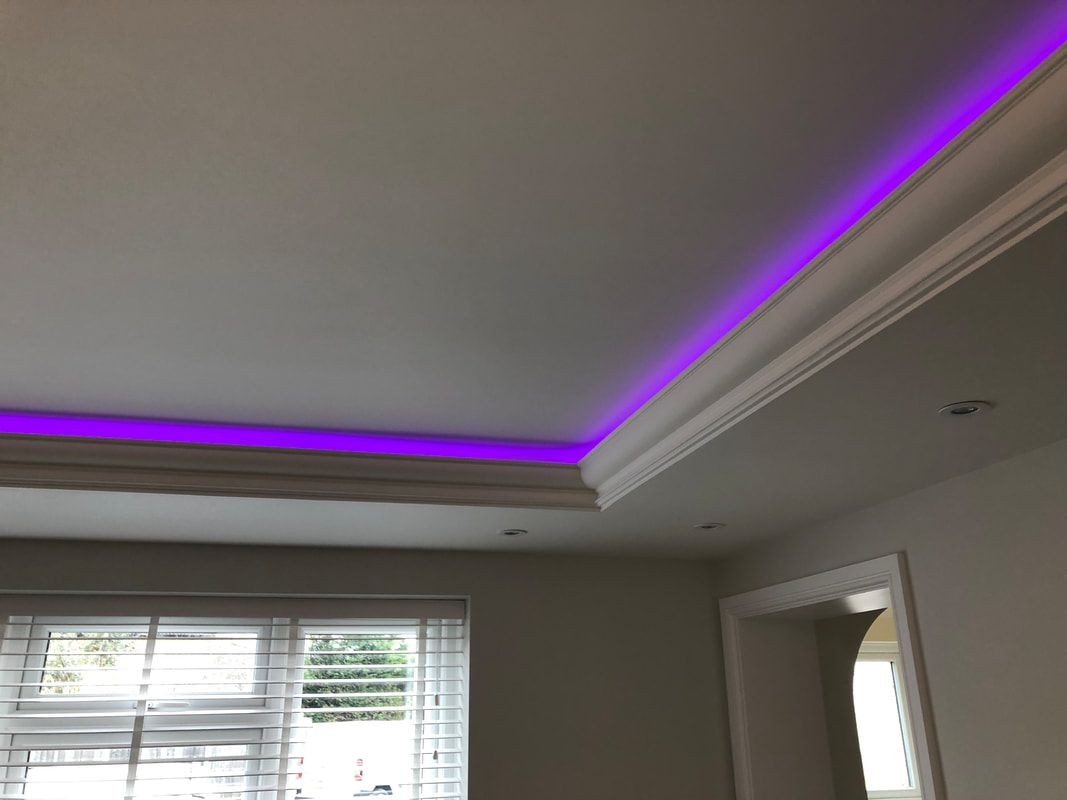 XPS COVING LED Lighting cornice BGX Corners in 2020 Led