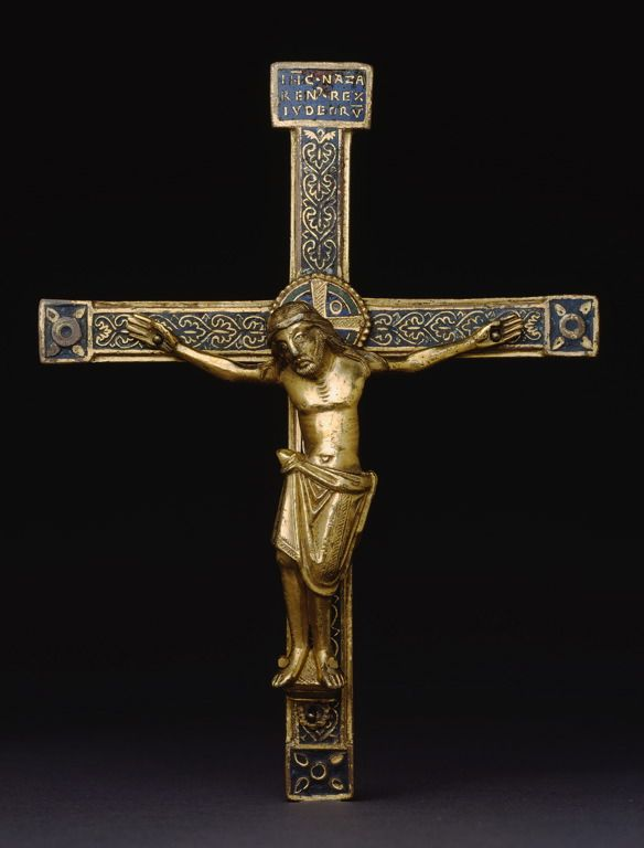 Belgian (Meuse River Valley) or German (Rhineland), Crucifix, Art Institute of Chicago
