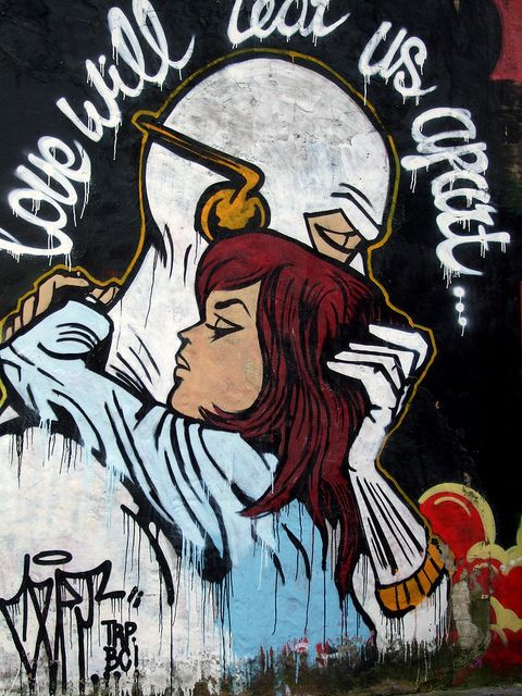 love will tear us apart by in Cremer St, E2 via Flickr