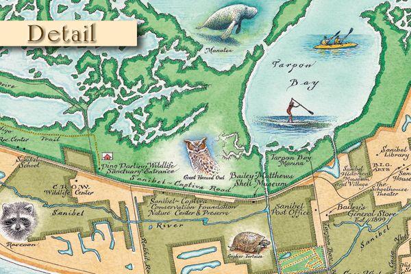 Map Of Sanibel Island Florida.Map Of Sanibel Island Beaches Featured Sanibel Captiva Island