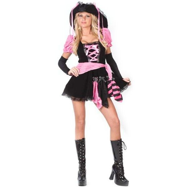 Adult Pink Sexy Pirate Costume Sexy pirate costume, Costumes and - sexiest halloween costume ideas