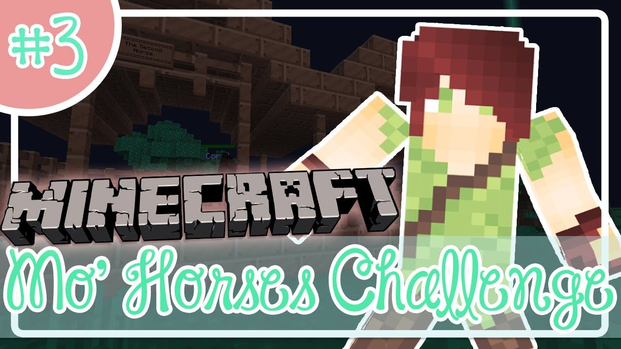 Minecraft: Mo' Horses Challenge | Episode 3: Our Creeper Neighbor