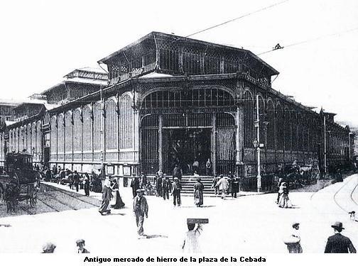 Antiguo mercado de la plaza de la Cebada