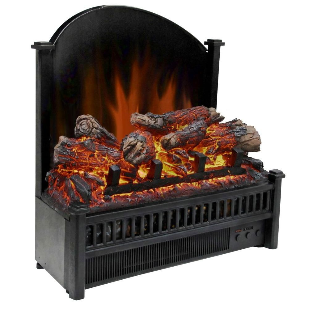 Pleasant Hearth 23 In Electric Fireplace Insert Li 24 Electric Fireplace Logs Electric Fireplace Insert Fireplace Inserts