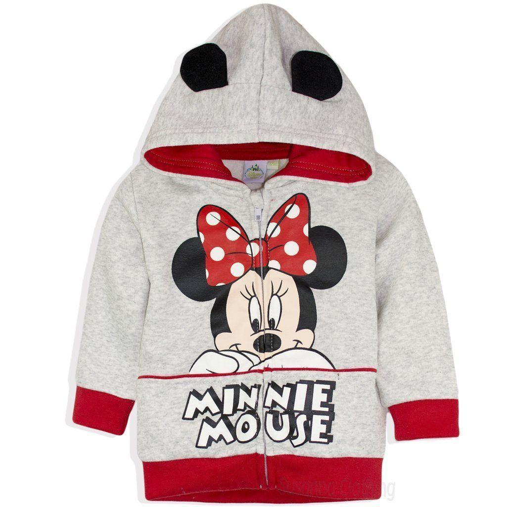 053c7f3ca Disney Minnie Mouse Baby Girls Hoodie