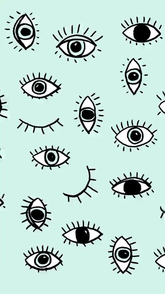 Instagram Beadedbymeg Wallpaper Design Pattern Eyes Wallpaper Phone Wallpaper
