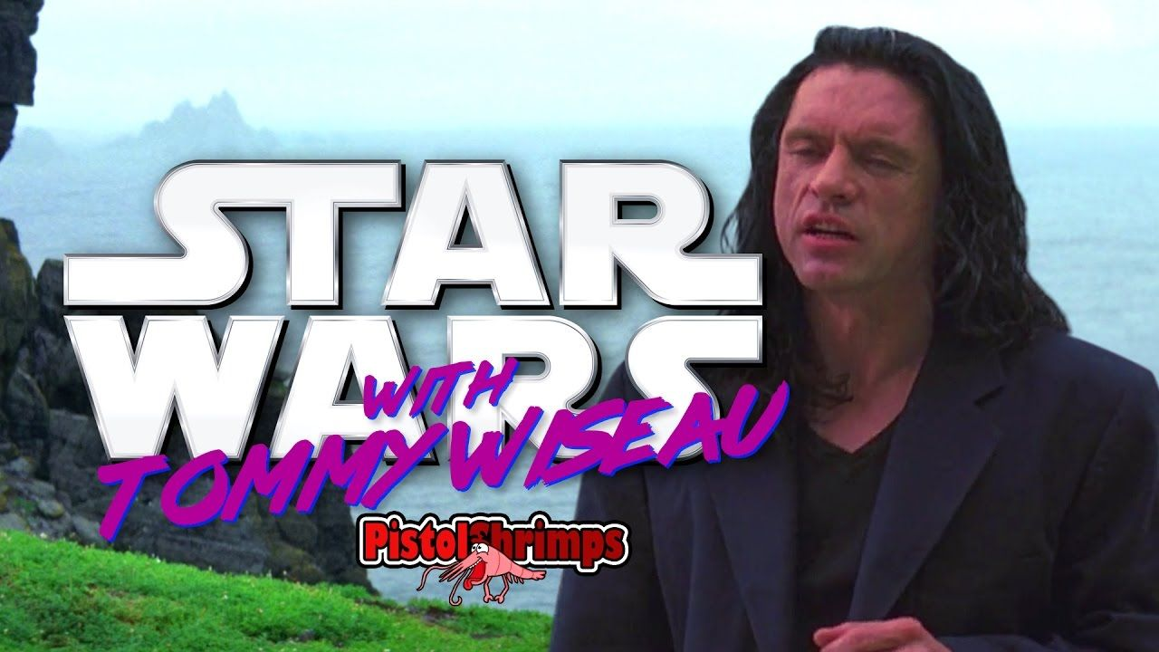 Star Wars With Tommy Wiseau Oh Hi Mark With Images Star Wars Film Star Wars Last Jedi
