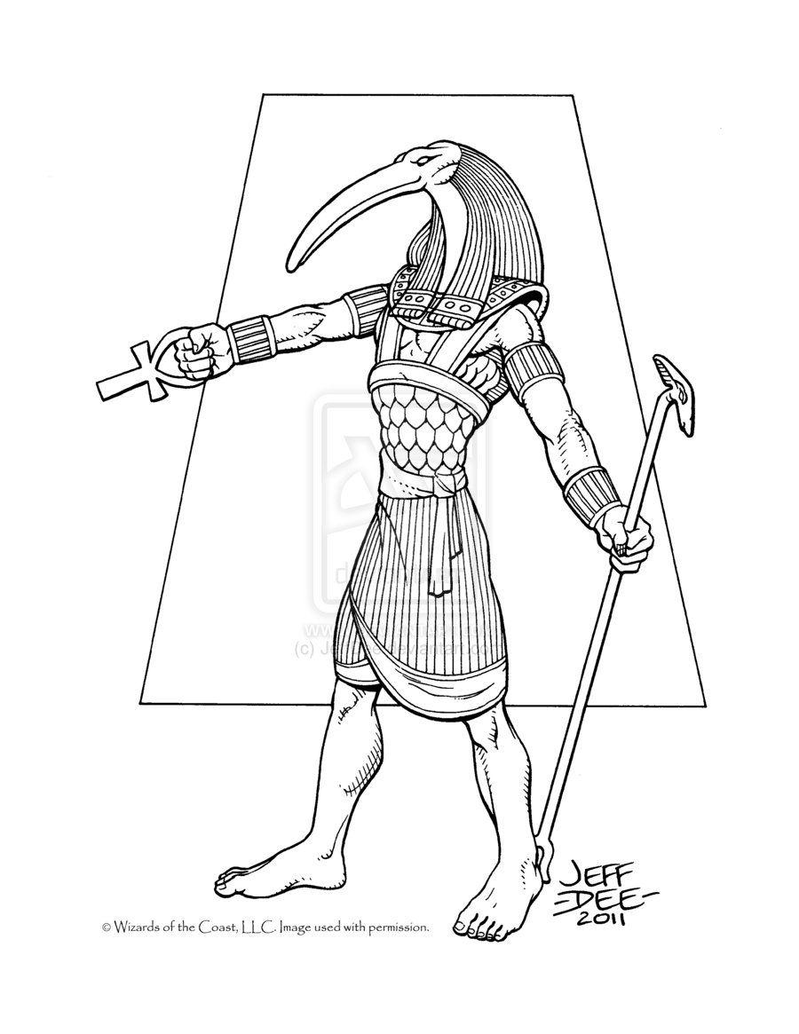 предварительным раскраска египетский воин ремонте хочется получить