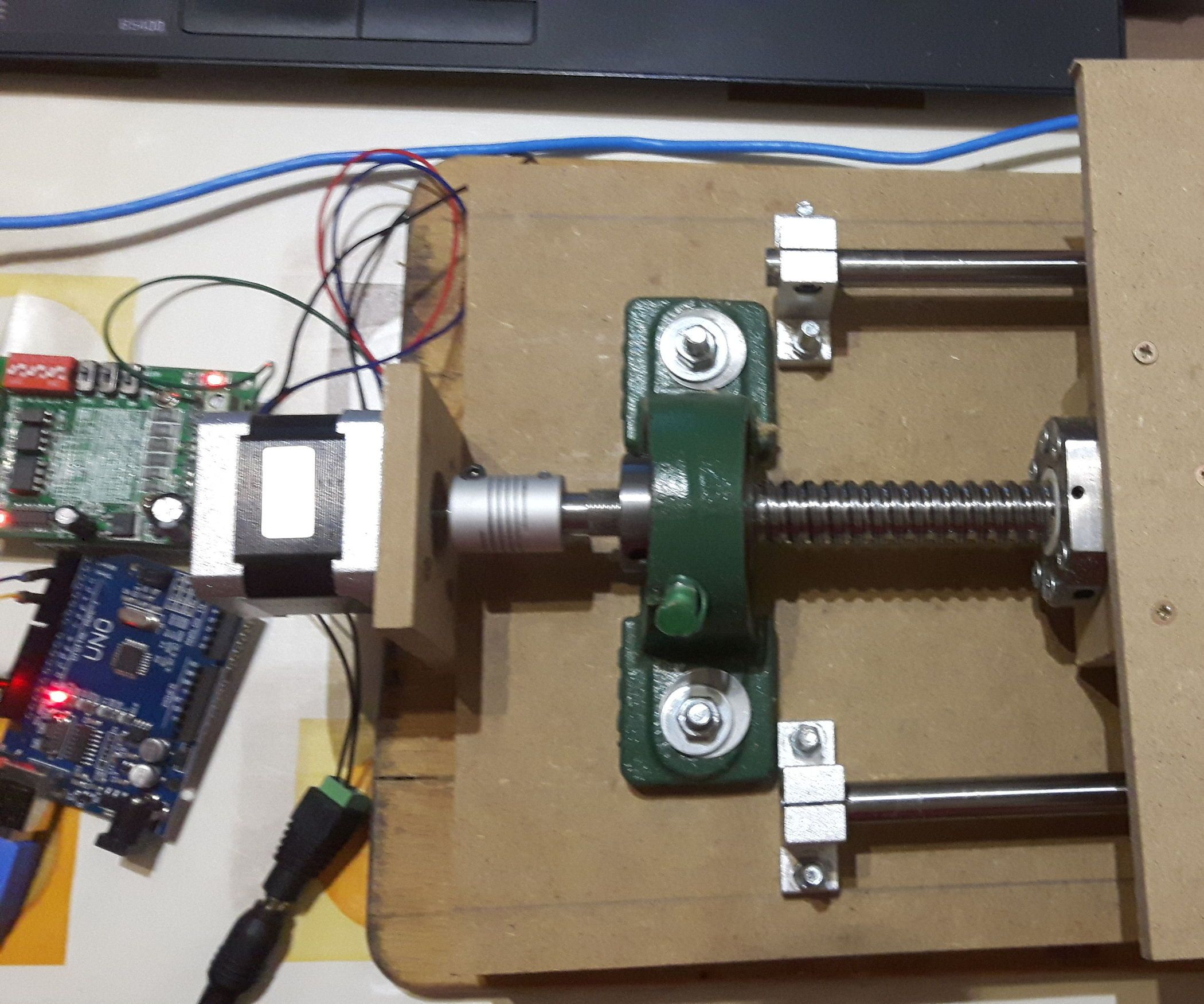 Homemade cnc milling machine v arduino uno grbl