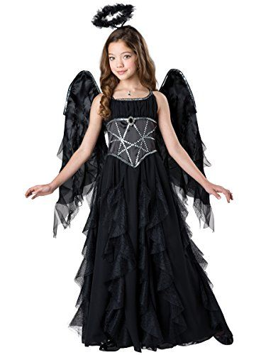 Incharacter Costumes Dark Angel Costume One Color Size 10