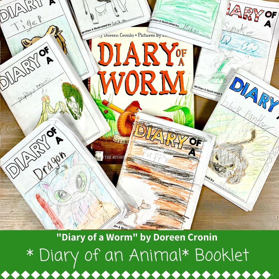 Diary Of A Worm Fill In Booklet Animal Perspective