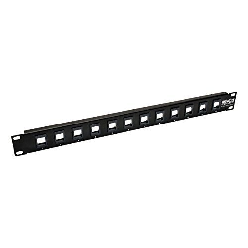 Tripp Lite 12 Port Keystone Blank Patch Panel Rj45 Usb Hdmi Cat5e Cat6 Rackmount Unshielded 2urm Taa N062 012 Kj Us 9 07 Free Patch Panel Rj45 Hdmi