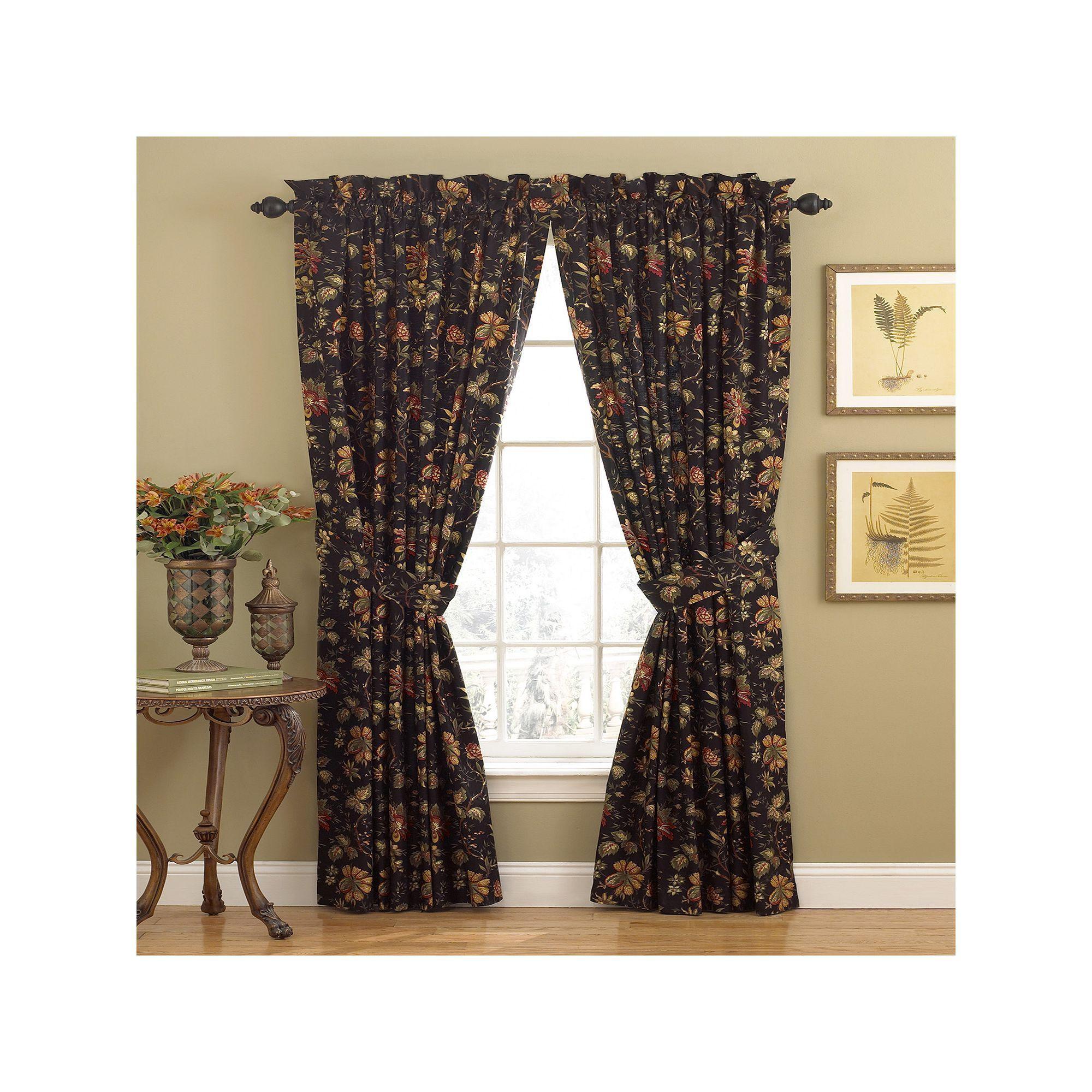 Waverly 1 Panel Felicite Window Curtain 50 X 84 Curtains