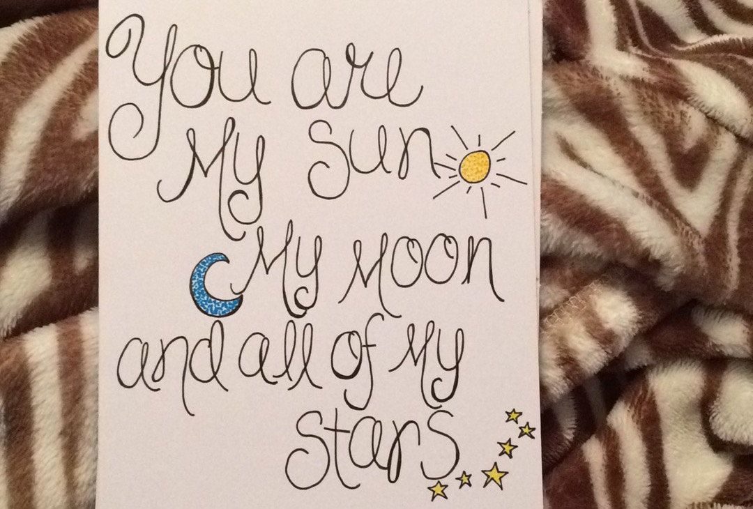 """5"""" x 6.5"""" Handmade Greeting Card. Greeting Card with Quote - pinned by pin4etsy.com"""