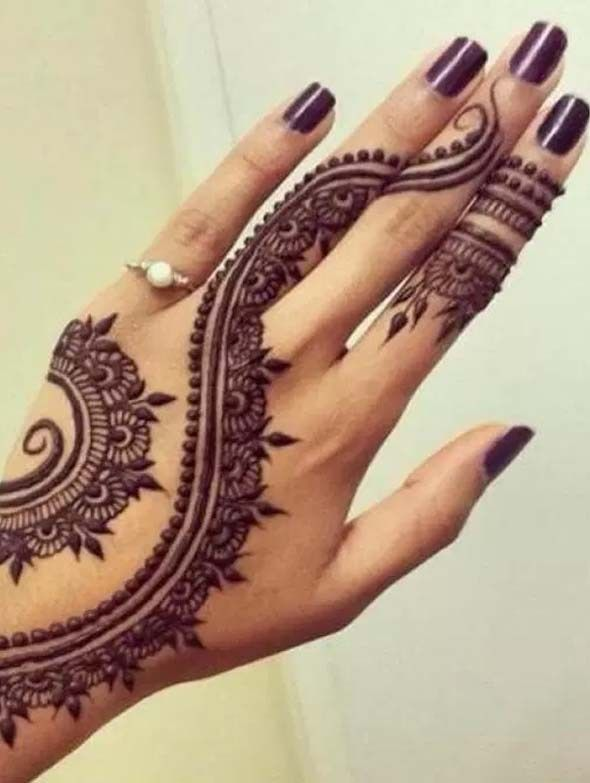 Gorgeous mehndi designs lines  patterns for most stylish but simple or henna also best images in beautiful rh pinterest