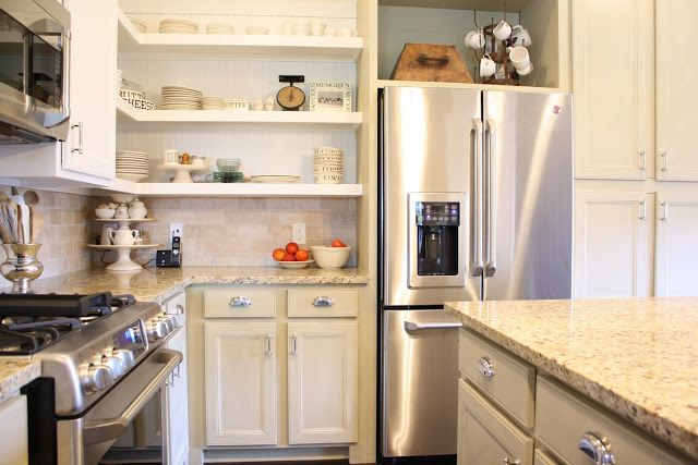 Annie Sloan chalk paint kitchen cabinets | For the Home | Pinterest