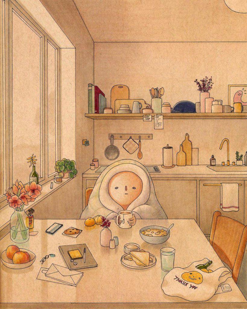 Le piccole gioie dell'illustratore Pascal Campion