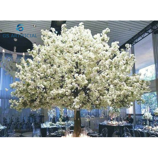 Factory Direct Indoor Silk Flower Trees Artificial Sakura Cherry Blossom Tree For Sale Fin Artificial Cherry Blossom Tree Cherry Blossom Tree Flowering Trees