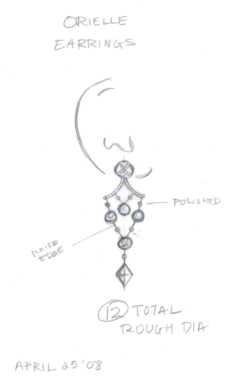 sketch art illustrations ditr jewelry sketches