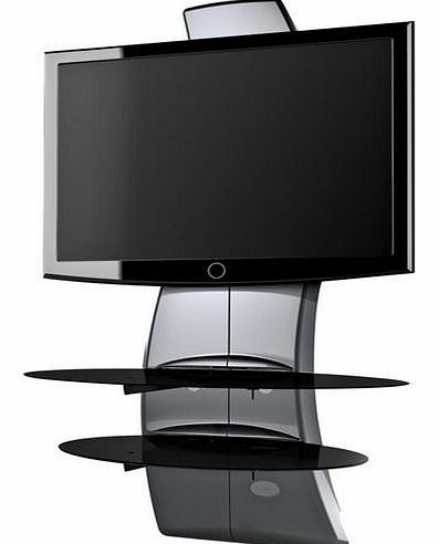 Exceptional MELICONI Ghost Design 2000 TV Stand   Silver The Ghost Design 2000 Stand  From Meliconi Has