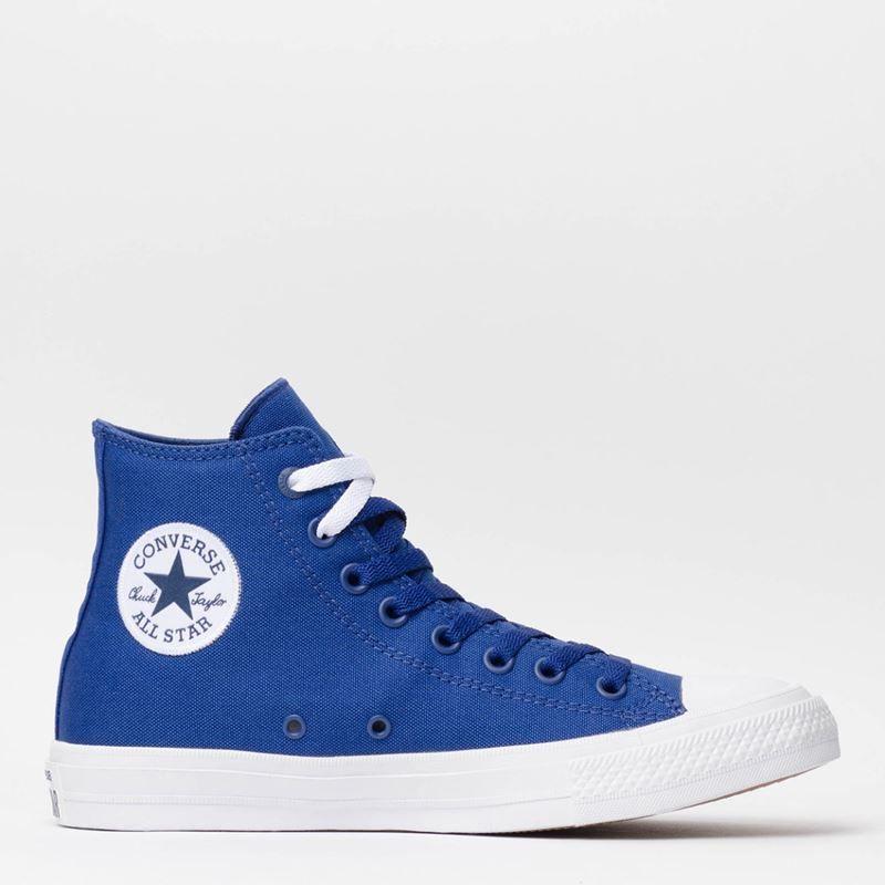 1dad69f165e Compre Converse All Star   Tênis Converse Chuck Taylor All Star II Hi  Sodalite Blue White Navy 153051 por R 299