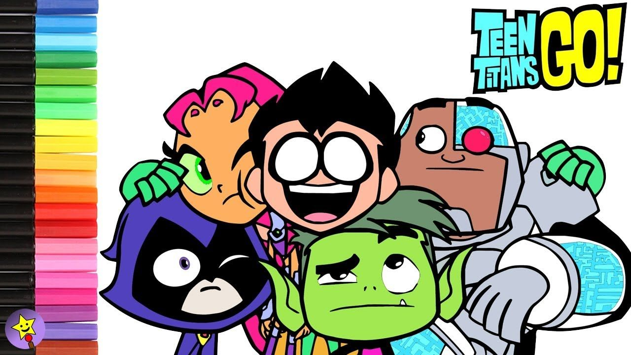 Teen Titans Go Coloring Page Video Raven Coloring Book -6387