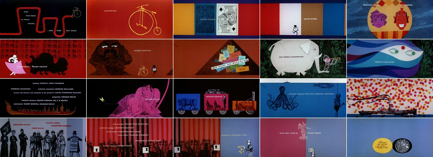 Saul Bass Title Sequences With Images Title Sequence Saul