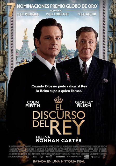 Poster Latino De El Discurso Del Rey Cine 1 El Discurso Del Rey Peliculas De Drama Peliculas Mejores