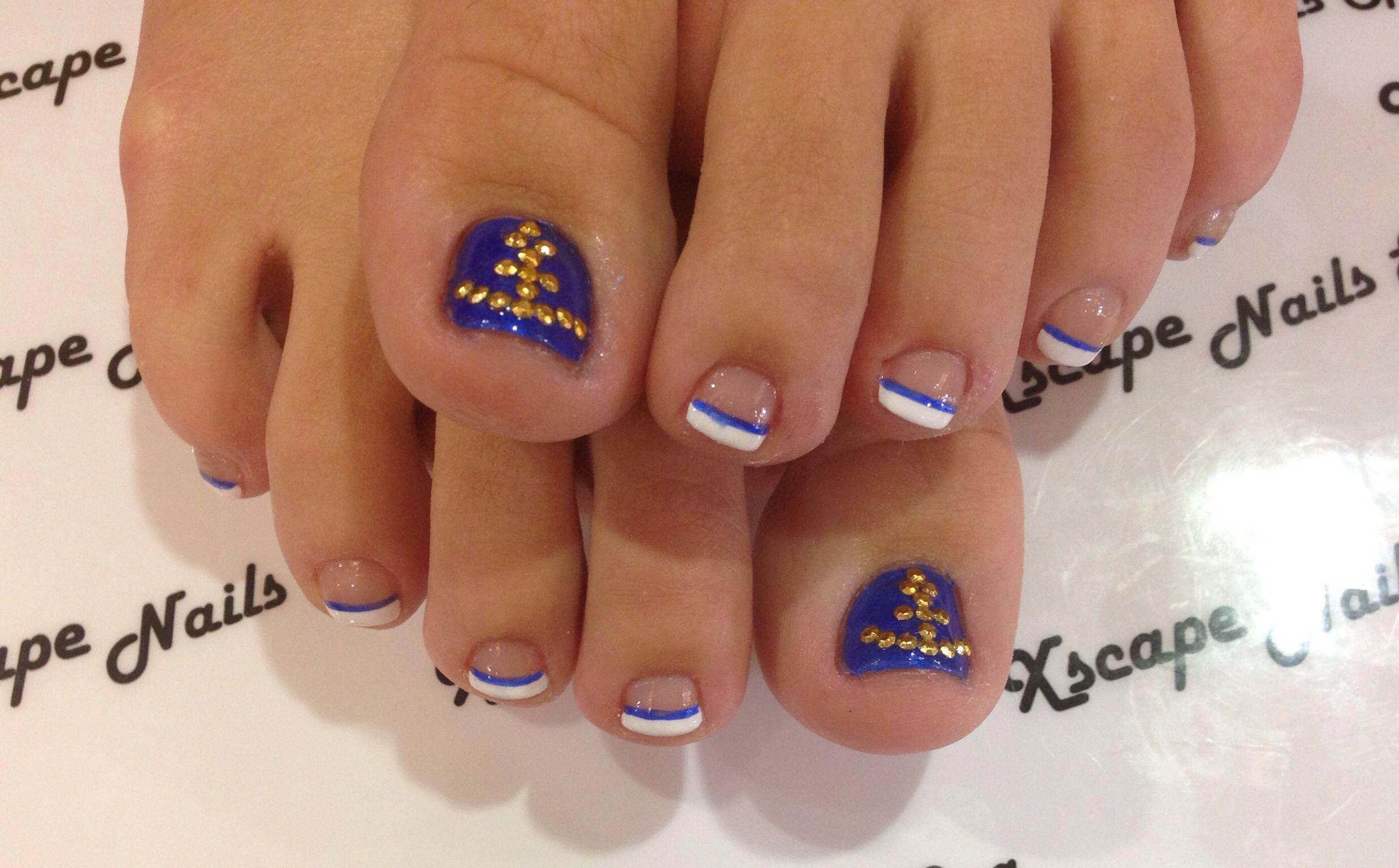 anchor nail design cute