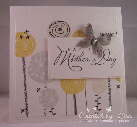Wishcraft: CAS Mother's Day cards