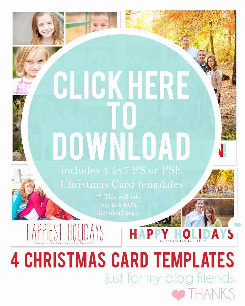 Free Photo Christmas Card Templates Inspirational Diy Holiday Postcards 1 Photoshop Christmas Card Template Holiday Card Template Christmas Photo Card Template